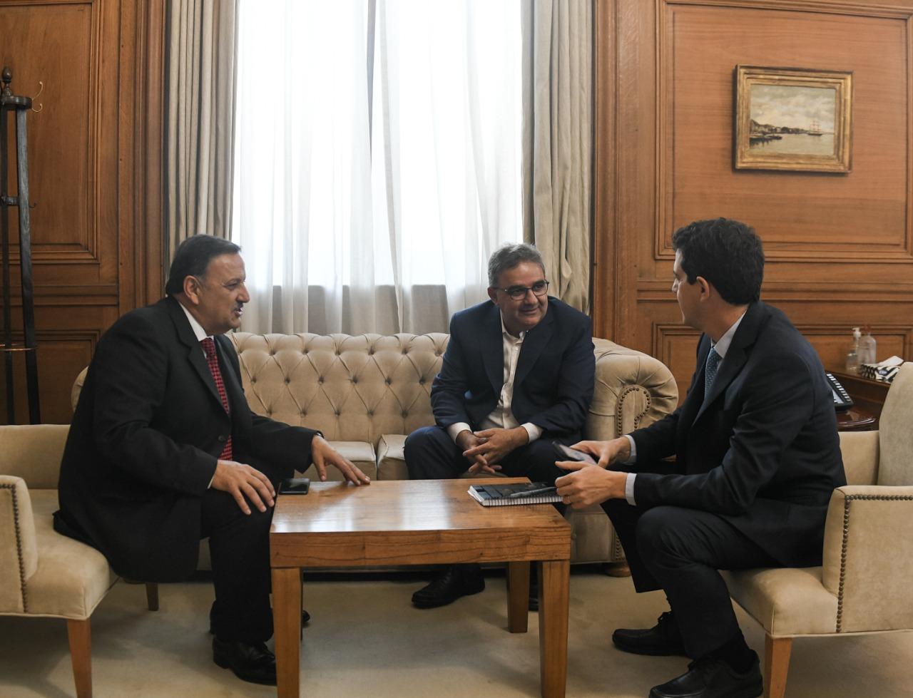 Wado de Pedro recibió a cinco gobernadores en el marco de la ronda de diálogo con las Provincias