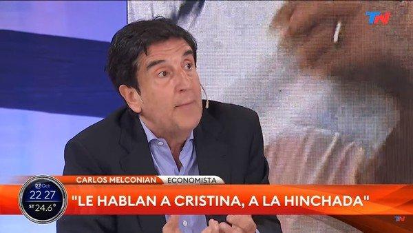 """para-carlos-melconian,-alberto-fernandez-le-hablo-""""a-cristina-y-la-hinchada""""-pero-despues-""""arregla""""-con-el-fmi"""